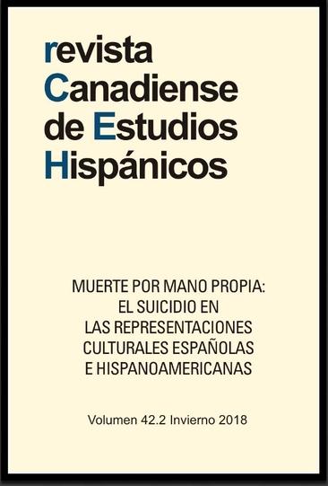 Lecturas Visuales De De Suicidios De Max Aub Revista Canadiense